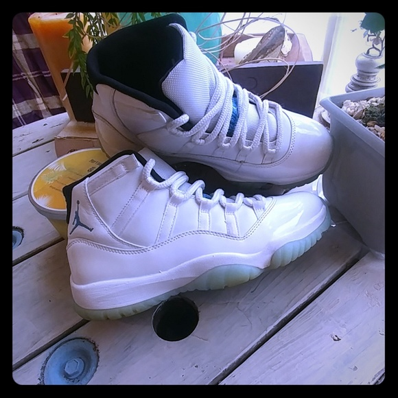 new style 62f34 ada4d Air Jordan 11 Retro 'Legend Blue' 2014